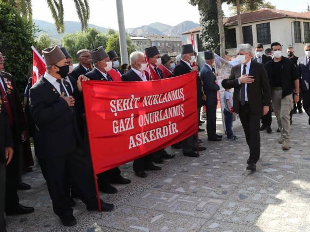 19 Eylül Gaziler Günü Düzenlenen Törenle Kutlandı