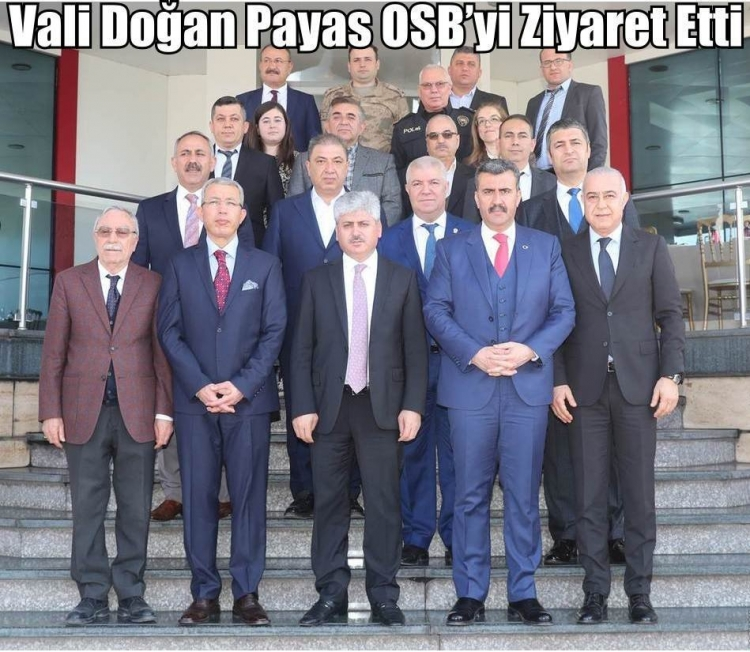Vali Doğan Payas OSB'yi Ziyaret Etti
