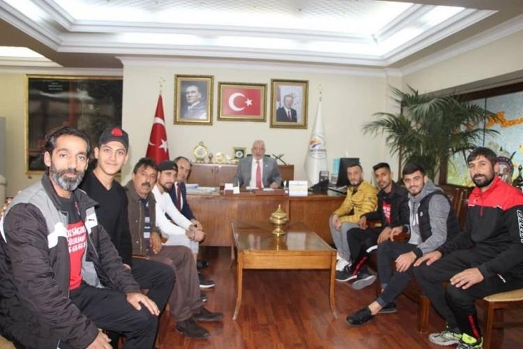 Meydan Spor'dan Başkan Fatih Tosyalı'ya Ziyaret