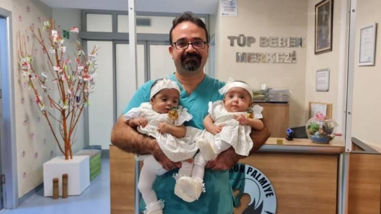 Beş Yıllık Özlem, İkiz Bebekle Taçlandı