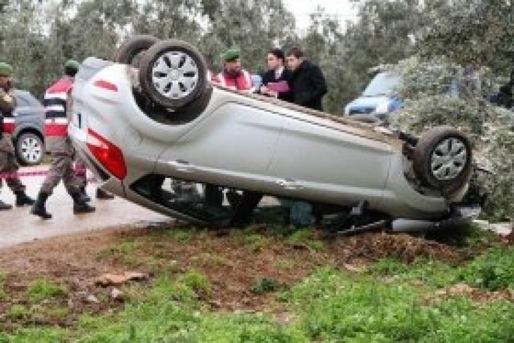 Harmancık'ta trafik kazası: 1 ölü, 3 yaralı