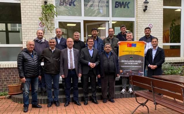 Güvenli İş Güvenli Gelecek Proje Ortakları Almanya'da
