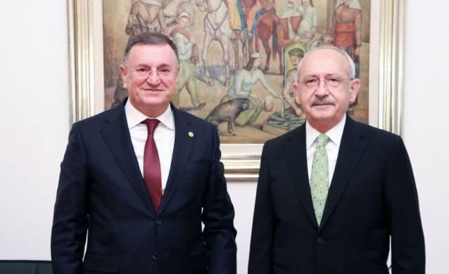 Başkan Savaş Ankara'da Temaslarda Bulundu