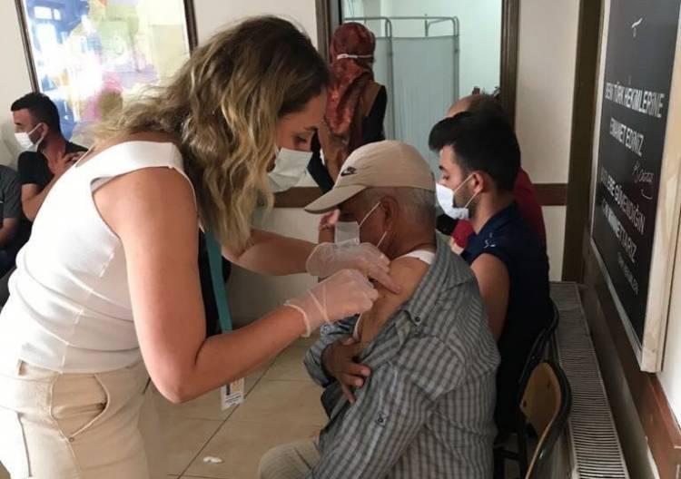 Belen İlçe Sağlık Müdürlüğü'nde Randevusuz Aşı Uygulaması Başlatıldı