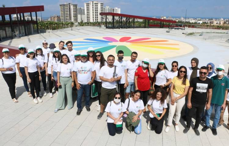 EXPO Gönüllüleri İskenderun-Arsuz Alanını Ziyaret Etti