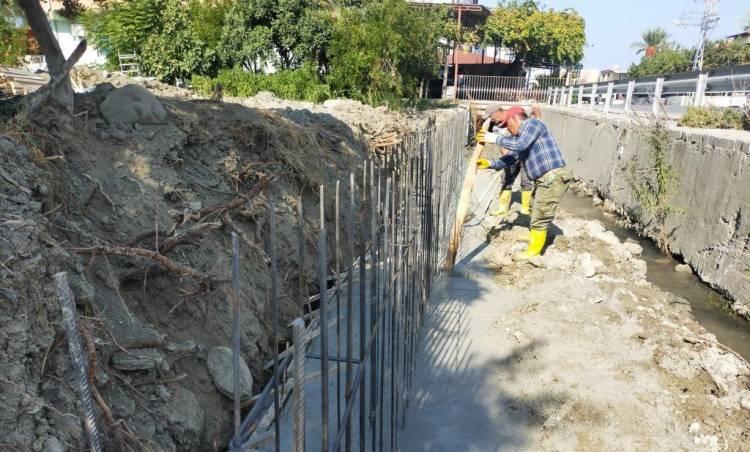 Arsuz'da Çalışmalar Devam Ediyor