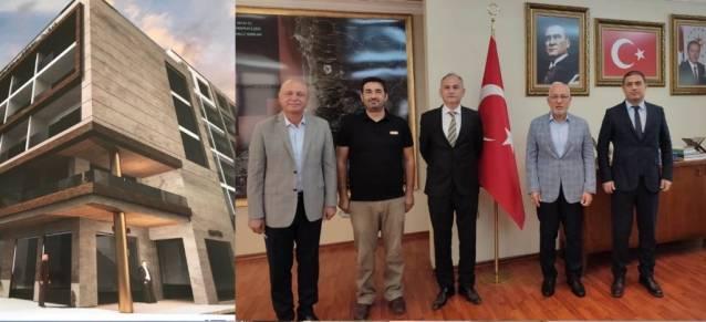 Başkan Tosyalı: Yeni Öğretmen Evi İskenderun'a Yakışacak