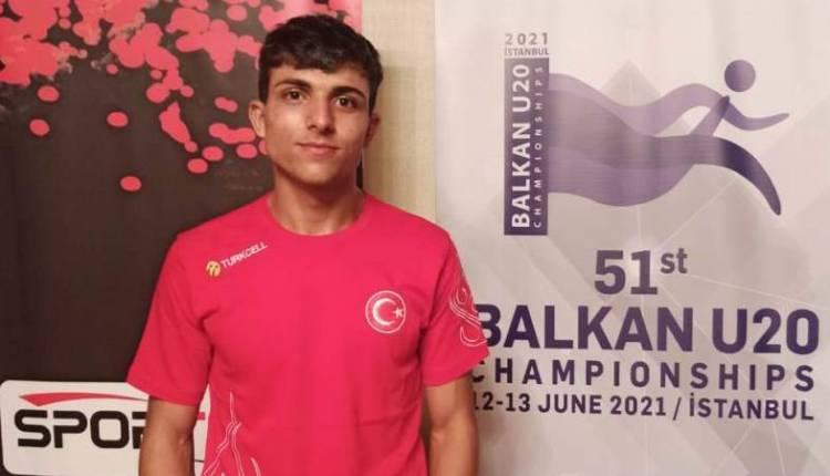 Hataylı Atlet Avcıoğlu U20 Balkan Şampiyonası'nda Yarıştı