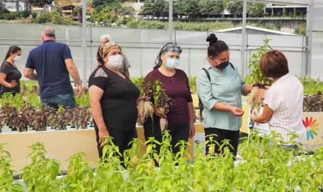 Kadın Üreticiler Yenilikçi Tarım Tekniklerini Öğreniyor