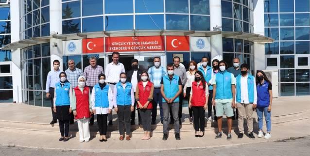 Gençlik Hizmetleri Genel Müdüründen İskenderun Gençlik Merkezine Ziyaret