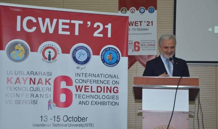İTSO Yönetimi Uluslararası Kaynak Teknolojileri Konferansı ve Sergisine Katıldı