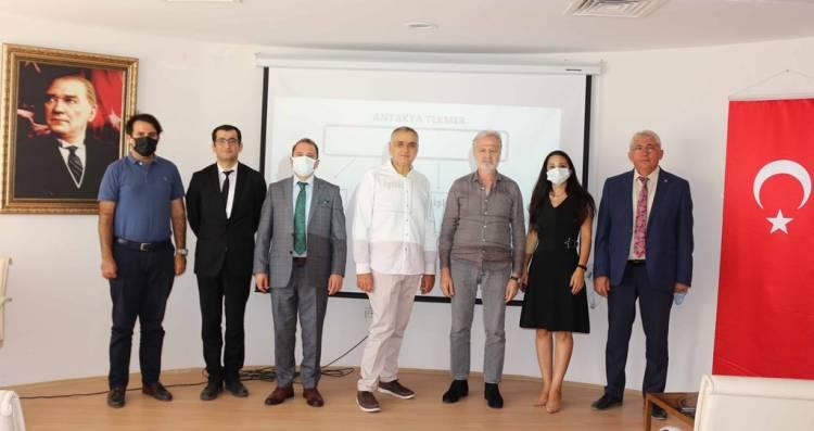 Ortak Üretim Merkezi ile Doğu Akdeniz ABİGEM'ie ziyaret