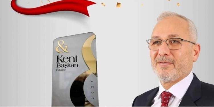 Başkan Tosyalı'ya Yılın Belediye Başkanı Ödülü