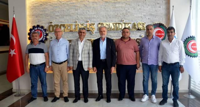 İTSO Yönetiminden ÖZÇELİK-İŞ Sendikasına Ziyaret